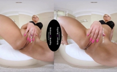 Stepmom takes a Big One in Virtual Sex POV