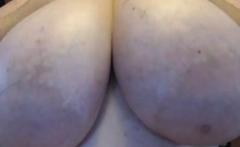 Village BBW shows very big boobs