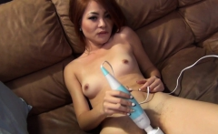 Skinny hottie craves for a long cock