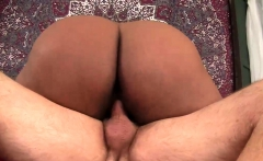 Black BBW Marliese Morgan vs White Dick