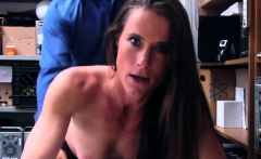 Shoplifter Sofie Marie loves LPs bigcock inside her pussy