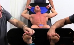 Jacking off guy with feet gay Johnny Gets Tickled Naked