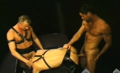 Sex cum cocks gay first time It's a 'three-for-all' adult (v