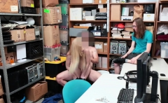 Blonde Shoplifter Emma Starletto Gets Fuck In Front Of Bf