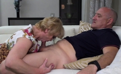 Mature lady Rina fucking and sucking