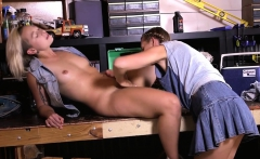 Hairy lesbians enjoy rimming and pussy eating