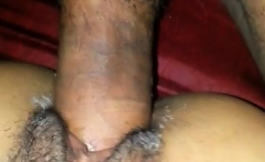 Hairy ebony amateur drilled hard