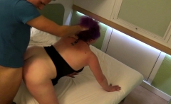 german ugly mature with pink hair ass licking and swallow