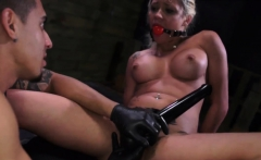 Bondage first time It wasn't smart of Marsha May to get into