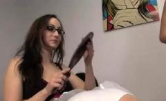 Amazing lesbian Spanking Fetish