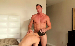 Young twink slammed by muscular stud