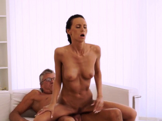 Old german mature anal Finally she's got her manager dick