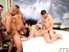 Tranny Doxy Is Eager To Get Cock In Mouth And A-hole