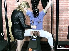 Frenzybdsm Feminine Domination Video With Latex