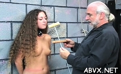 Sugary honey is use sex-toy in her tight pussy