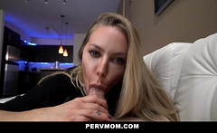 PervMom - Seductive Milf Facefucked By A Big Cock