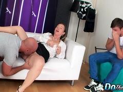 Cuck Devastated As Wife Bibi Fox Fucks