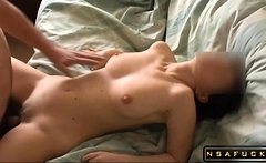 Fucking my HOT busty US co worker in tight pussy