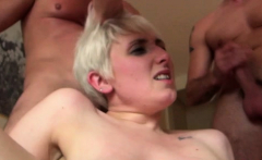 Babe gets her arsehole destroyed by her insane interviewer