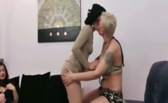 Dirty mature lesbians go crazy making