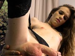 Amateur Trap Fingering Her Tight Asshole