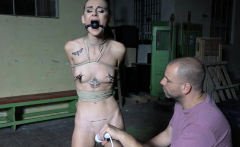 Adelle earned to cum after being vibed and chair tied