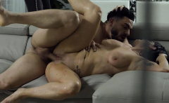 Peter Green showered milf Leila with his creamy load