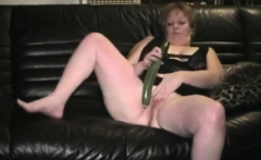 Grandma Audrey loves big cucumbers