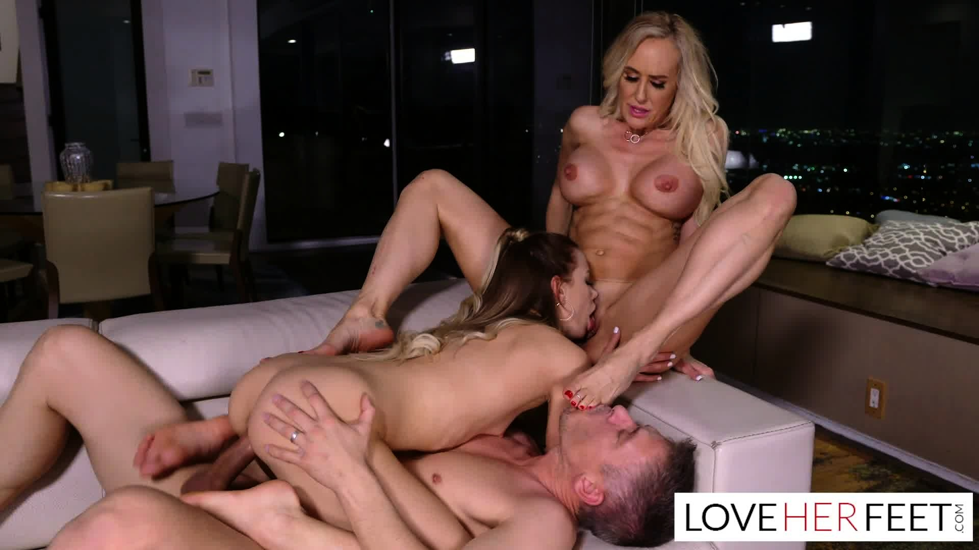 Brandi Love Fucks Stepson