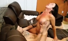 Alluring Brunette Milf With Big Hoot ep2