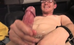 Teen boy hard gay porn He continues to play with his penis w